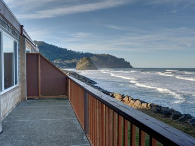 Photo for Experience Pacific sands from condo 21, w/ oceanfront views in Neskowin!