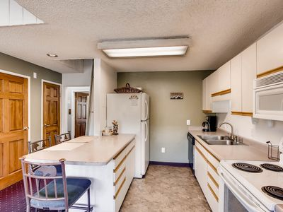 Photo for Great Mountain Getaway-2 BDRM+Loft, Steps From Main Street And The Slopes!