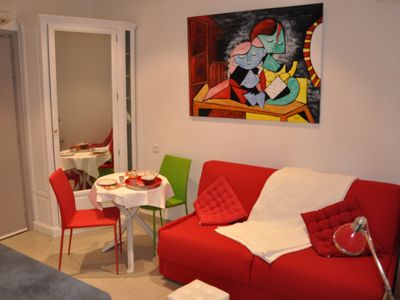 Photo for NICE charming apartment, STUDIO / TERRACE, close to the center