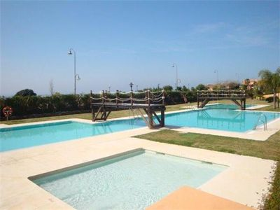 Photo for Spacious two bedroom apartment near the beach, Playa del Angel, Estepona, next to the beach
