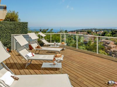 Photo for Magnificent 3 bedroom Villa in Roquebrune-Cap-Martin (Q9424)