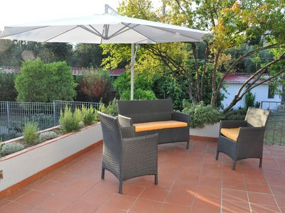 Photo for Elegant villa with garden just 3.9 km from the sea