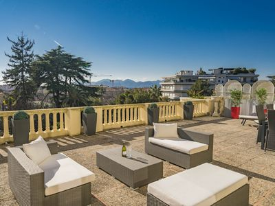 Photo for Superb 2 rooms with magnificent terrace of 100m²