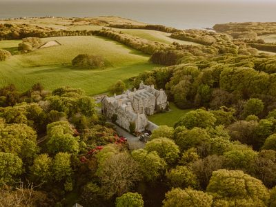 Photo for 5* FAIRY TALE CASTLE ON ESTATE BY THE SEA SLEEPS 42 with lochs & gardens