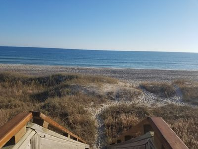 Photo for Just steps to the Beach!  Oceanfront w/ Beautiful View