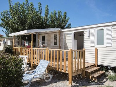 Photo for Camping Le Soleil Bleu by Nai'a **** - Mobil Home OHANA Air Conditioned 4 Rooms 6 Persons