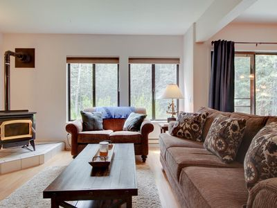 Photo for Cute condo near golf & Payette Lake Wi-Fi and a great shared pool & hot tub!