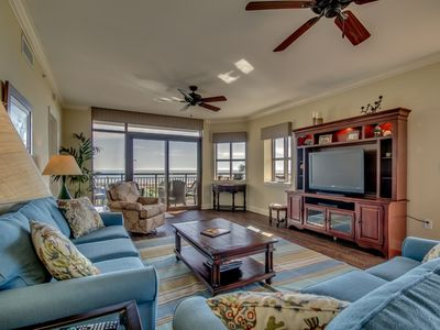 Photo for Gorgeous 3rd Floor Oceanfront End Unit Condo in North Beach Plantation