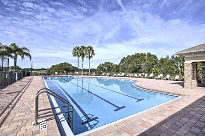 You'll have access to resort-like community amenities.