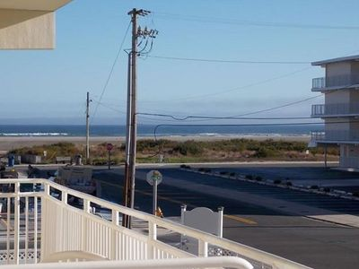 Photo for Shore to Please! Ocean View Condo w/Pool. Steps to beach/boardwalk. Free WIF