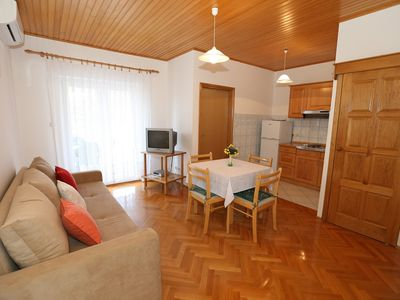 Photo for Apartments Nada / Apartment Nada A2+1 with Terrace and Sea View