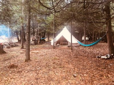 Photo for Glamping on the Manistee River @ 1 of 3 State Forest Campgrounds!