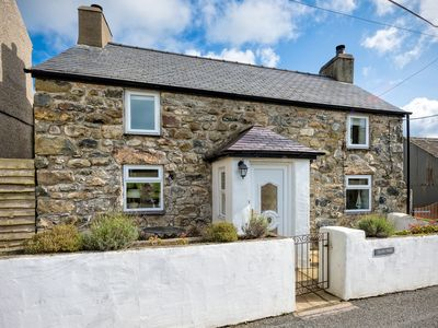 Photo for Glan Parc is a beautifully presented detached cottage situated in the rural hamlet of Pentreuchaf ye
