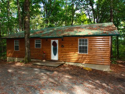 Luxury cabin with hot tub, ATV trails, and secluded in the woods