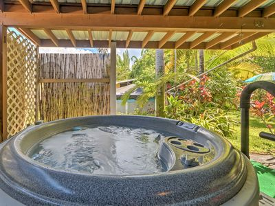 Photo for New! Tropical 2BR Hilo Home w/ Private Jacuzzi!