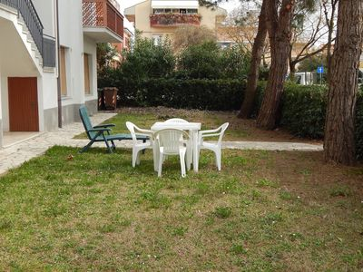 Photo for M18 - Marcelli, three-room apartment with garden at 50 meters from the right sea