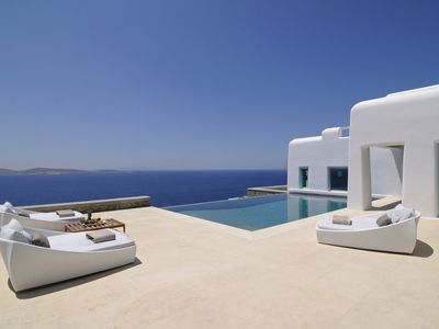 Photo for Incredible 9 Bedroom Philippos Villa, Mykonos. Contact for best rates & complimentary concierge!