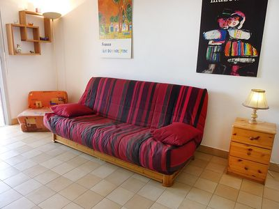 Photo for Apartment 670 m from the center of Fréjus with Internet, Lift, Parking, Terrace (137625)