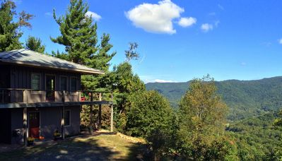 Mountain top retreat and fresh air so you can unwind.