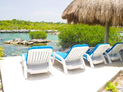 Photo for GORGEOUS view! Located on Yalku lagoon Akumal an Enormous Outdoor Aquarium!