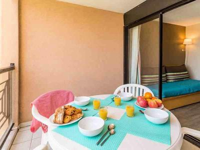 Photo for Residence Pierre & Vacances Cannes Verrerie - Studio 4/5 Standard People - Sea View