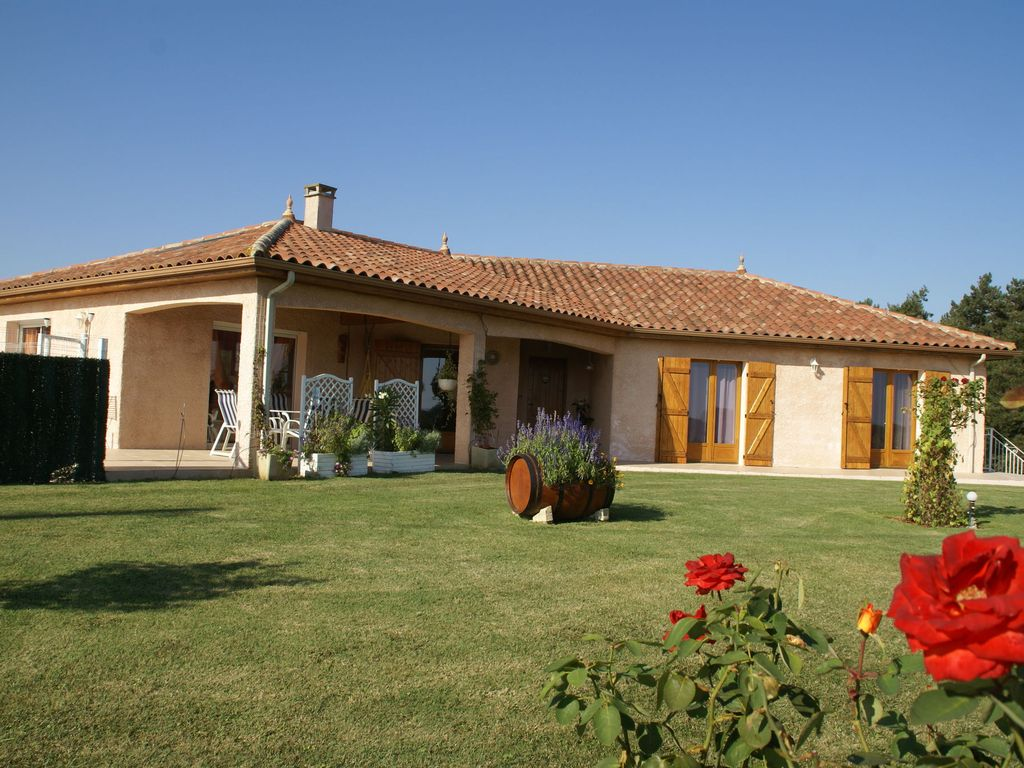 Cosy Detached Holiday Home With Private Swimming Pool And Garden Armous Et Cau Gers
