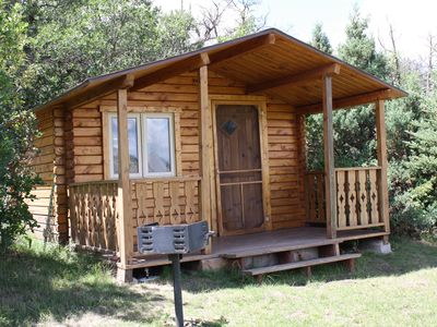Photo for Rustic Cabin in Majestic Mountain Setting Minutes from Glenwood, Aspen, Vail