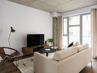 Photo for Classic 1BR in Quartier des Spectacles by Sonder