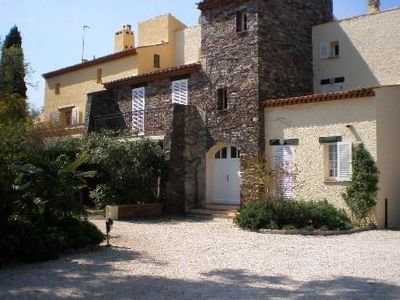 Photo for beautiful sunny apartment, large terrace in a quiet near the village