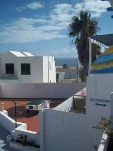 Photo for Apartment TIKCOTU in Puerto del Carmen for 3 persons with shared pool, terrace, balcony, views to the ocean, views of the volcanoes, WIFI and less than 1000m to the sea
