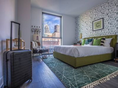 Photo for Domio | Merchandise Mart | Stylish 2BR/2BA + Pool and Fitness Center