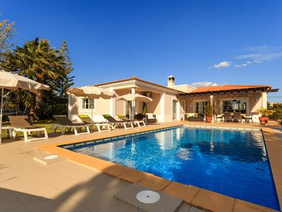 Photo for Beautiful Villa With Private Heated Pool, Gardens And 5 Minutes Walk From Beach