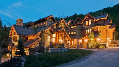 """Photo for Luxurious Home on the Vail Golf Course """"Bus stop in the front yard"""" 4BR + Loft"""