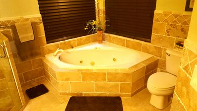Photo for GREAT JUPITER  HOME *  PRIVATE TIKI HUT,  POOL,  WATERFALLS &  EXOTIC TREES