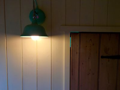 Photo for Hut in the Hollow - A handcrafted Shepherd's Hut a short walk from Durham City
