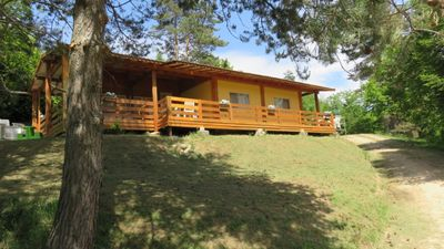 Photo for Spacious mobil-home in a relaxing environment with swimmingpool