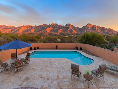 Photo for SUMMER RATE REDUCTION- Southwestern Charm with Massive Catalina Mountain Views