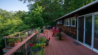 Photo for Silver Bay Home Overlooking Stunning Lake George