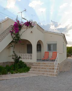 Photo for At 60 meters from the beach, very well equipped house with magnificent sea views