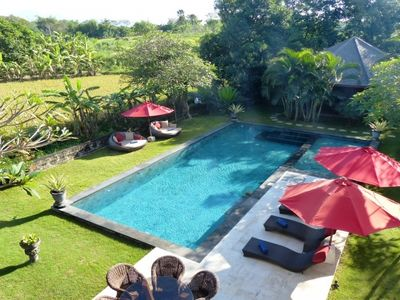 Photo for Umah di Sawah 5 Bedroom Luxury Villa +Car+Driver, Canggu
