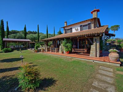 Photo for Villa in Macchiascandona with 6 bedrooms sleeps 11