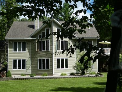 Photo for Great home near Traverse City in 7 acres of private woodlands but close to fun!