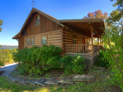 Photo for Cozy Lake View Cabin.. Great For The Whole Family with 26 acres to explore