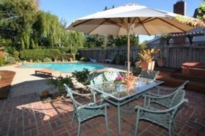 Photo for Relax by Your Private Pool and Lush Backyard Close to UCSC