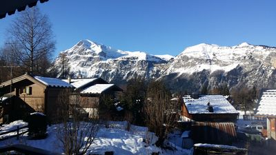 Photo for Apartment completely renovated, contemporary view on Aravis, facing south