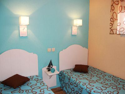 Photo for Residence Lagrange Holidays Grand Bleu Les Jardins de Neptune *** - 2 Rooms 2 People Air conditioned