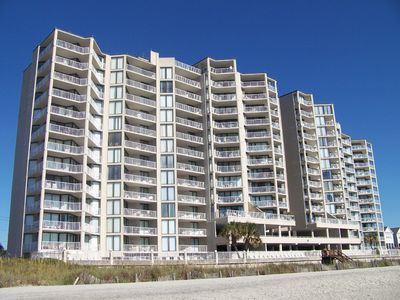 Photo for One Ocean Place 103 - Fabulous two-bedroom, two-bath oceanfront condo