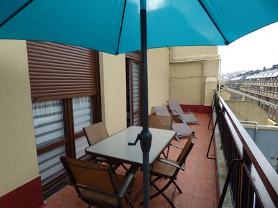 Photo for Penthouse with terrace in Centre - Gros.