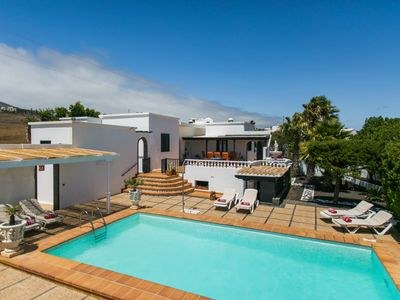 Photo for Villa Nicole, Macher, with heated Pool, Wifi and Scenic views
