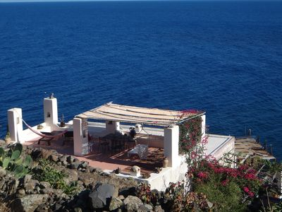 Photo for Charming apartment 35 steps from the sea